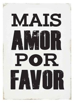 (59) MAIS AMOR - EMOTY Wall Deco