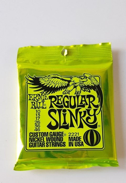 Encordado Guitarra Electrica 10 46 Ernie Ball Cuerdas