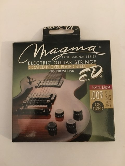 Encordado Guitarra Electrica 10 46 Magma Coated Nk Cuerdas