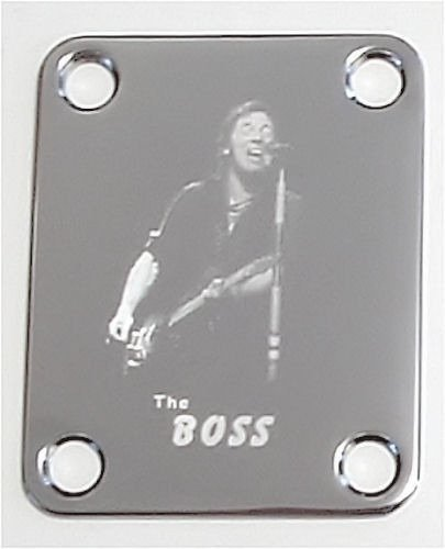 Neckplate Sujeta Mango The Boss Guitarra Bajo - Living-Stones