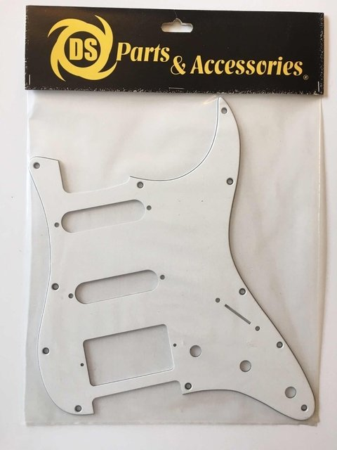 Pickguard Stratocaster Ssh Blanco Ds Pickups A28