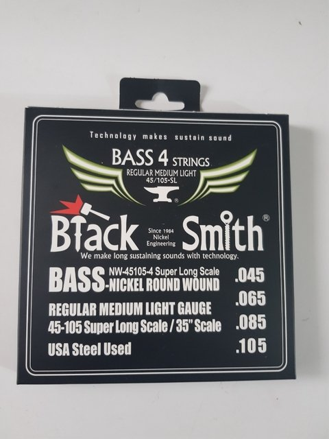 Encordado Bajo 45 105 Black Smith Usa Cuerdas