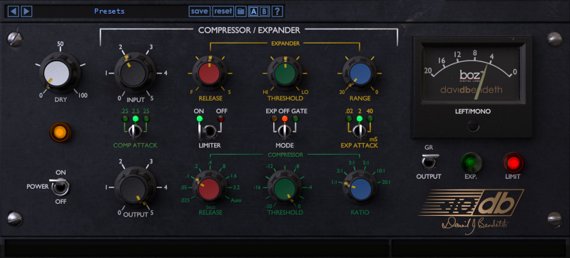 Plus 10db Compressor | Boz Digital Labs