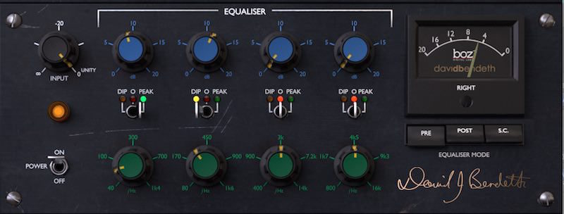Plus 10db Equaliser | Boz Digital