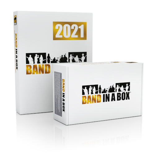 Band in a Box 2021 | Upgrade para Windows (versões mais antigas)