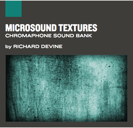 Banco de sons MIcrosounds Textures