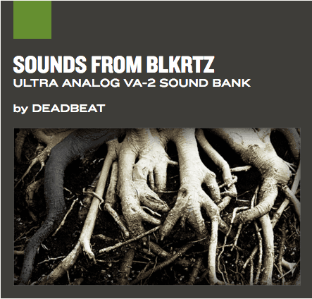 Banco de sons Sounds from BLKRTZ