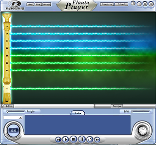 Flauta Player - Daccord Music Software