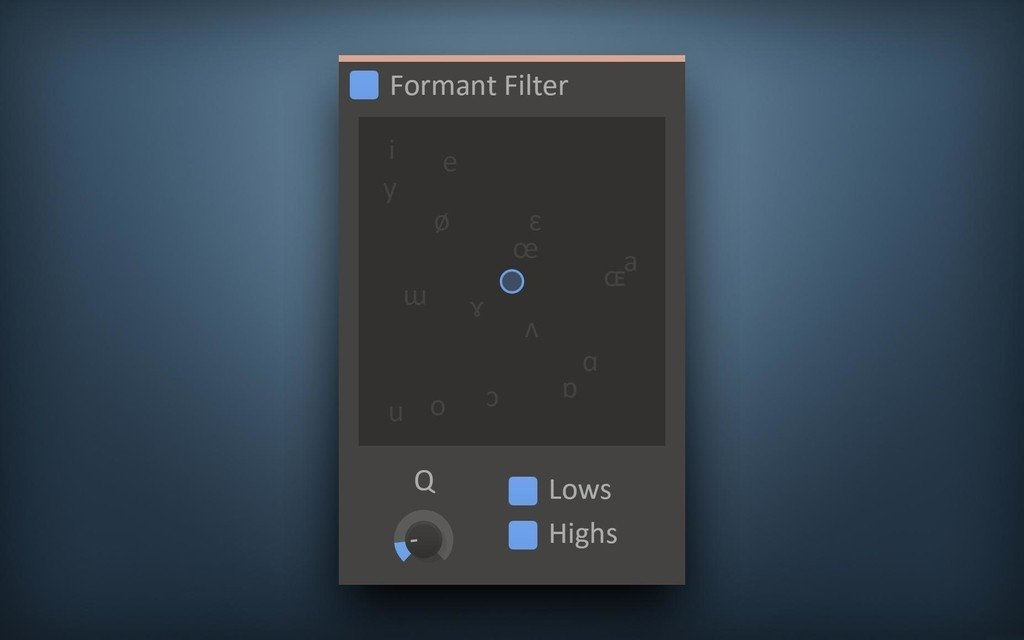 Formant Filter