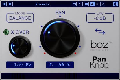 Boz Pan Knob | Boz Digital