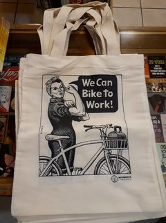 ECOBAG ANDY SINGER - WE CAN BIKE TO WORK