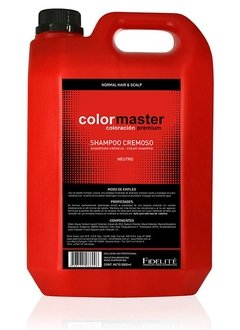 Art. 600 - Shampoo Cremoso Neutro 5000ml. Color Master - Fidelite