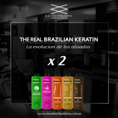 THE REAL BRAZILIAN KERATIN PROMO x 2.