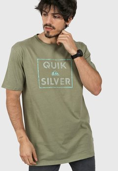 Remera Quiksilver Hombre Mc Boxed Intent Original