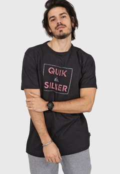 Remera Quiksilver Hombre Mc Boxed Intent Original - comprar online