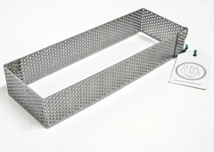 Cintura rectangular microperforada - comprar online