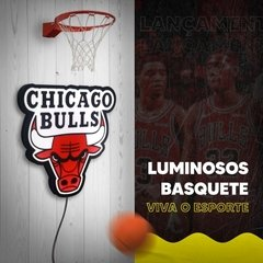 LUMINOSO CHICAGO BULLS