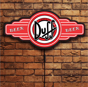 LUMINOSO DUFF BEER