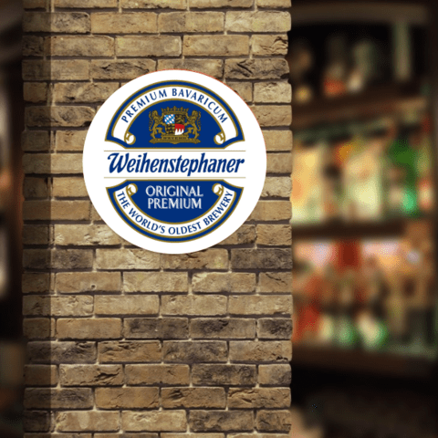 PLACA DECORATIVA WEIHENSTEPHANER