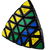 Mefferts Professor Pyraminx 5x5 Pillow na internet