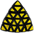 Mefferts Professor Pyraminx 5x5 Pillow - Casa do Cubo - Loja de Cubo Mágico