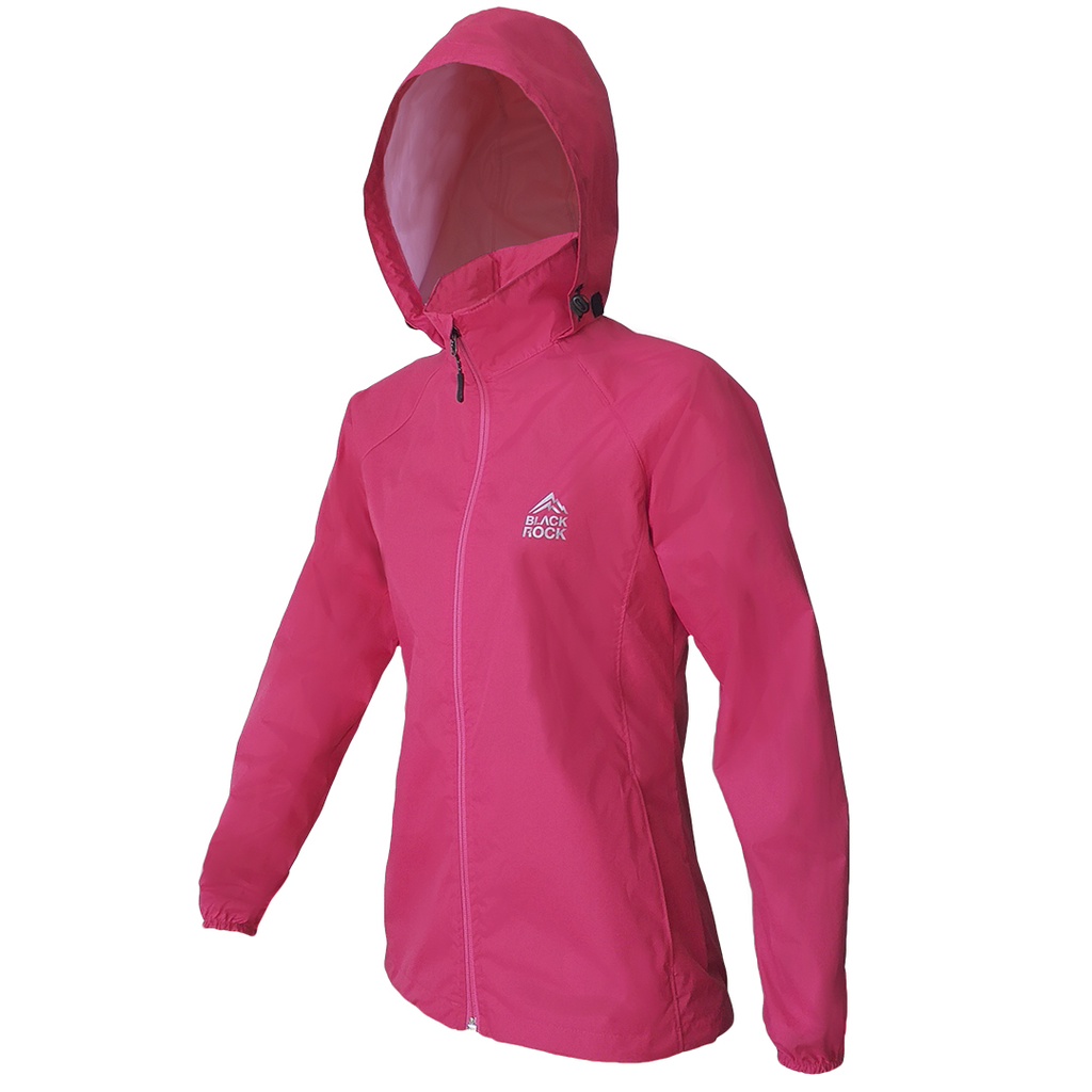 Campera Rompeviento Adventure ROSA CANDY Mujer BLACK ROCK