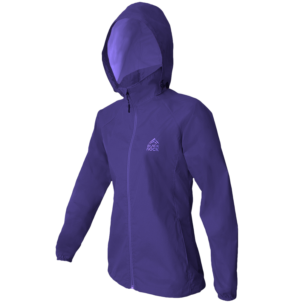 Campera Rompeviento Adventure STAR BLUE Mujer BLACK ROCK