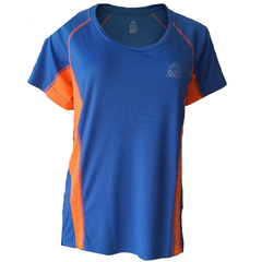 Remera Running DAMA AZUL - Black Rock - RRDO1