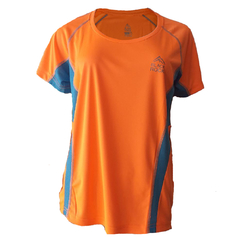 Remera Running DAMA NARANJA - Black Rock - RRDO1