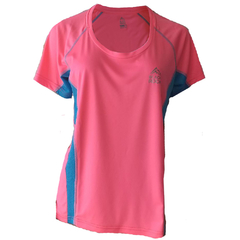 Remera Running DAMA ROSA - Black Rock - RRDO1