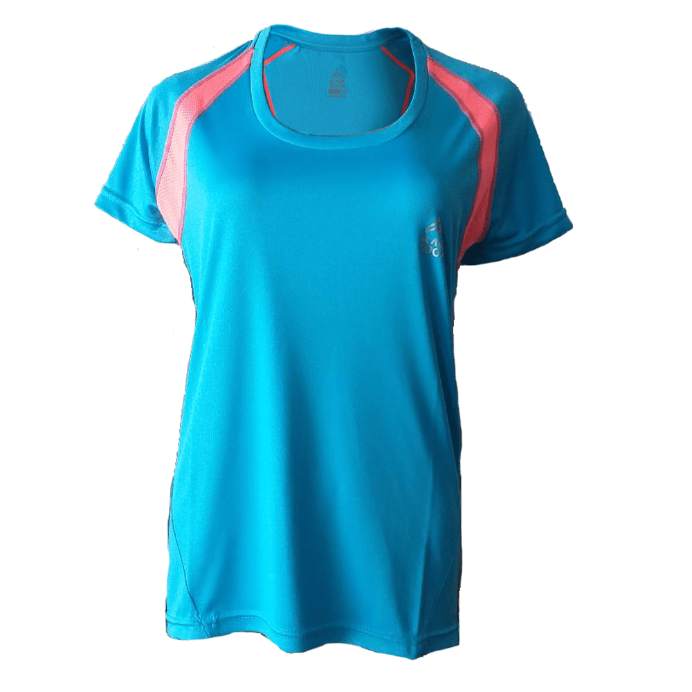 Remera Running DAMA Turquesa - Black Rock - RRDO