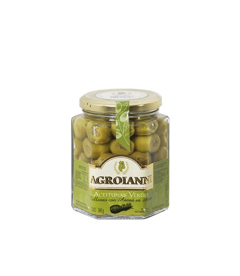 AGROIANNI ACEIT. RELL. C/ANANA X 300 GRS