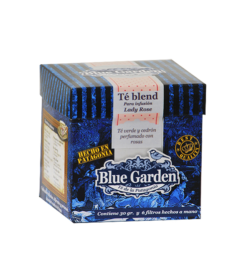 TE BLUE GARDEN LADY ROSE X 30 GR
