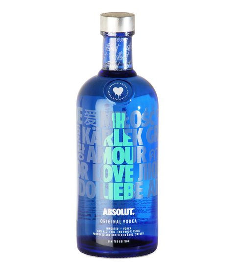 VODKA ABSOLUT DROP ED. LIMITADA X 750 ML