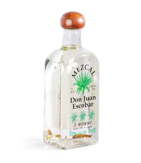 MEZCAL DON JUAN ESCOBAR 2 WORMS X 700 ML
