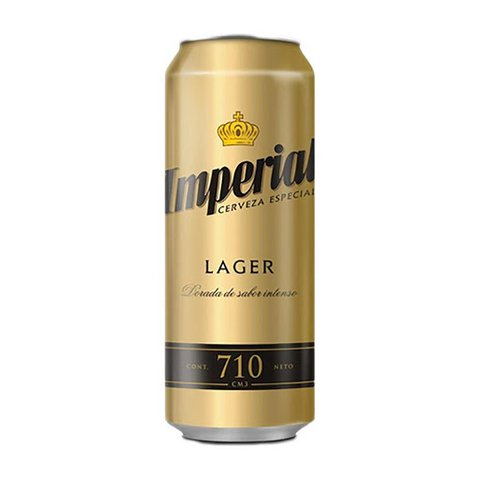 C. IMPERIAL LAGER LATA X 710 ML