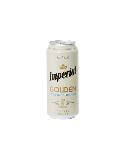 C. IMPERIAL GOLDEN LATA X 473 ML