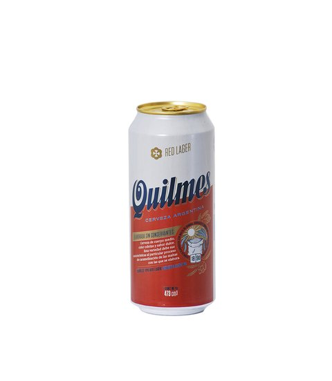 C. QUILMES RED LAGER LATA X 473 ML