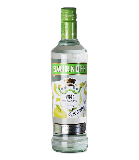 V. SMIRNOFF GREEN APPLE X 700 CC