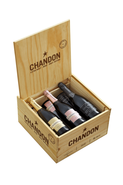 EST. ESP. CHANDON E. BRUT/ROSE/B. NATURE X 6 BOT