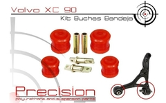 Volvo Xc90 - Kit Buchas Bandeja + Estab - Pu 5 Anos Garantia - Precision Suspension Parts
