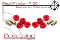 Pathfinder 96 A 04 - Kit Buchas Comp. Pu - 5 Anos Garantia - Precision Suspension Parts
