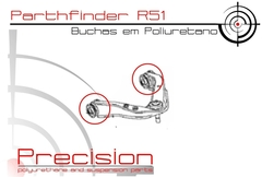 Pathfinder 05 A 13 -buchas Band Su.p - Pu - 5 Anos Garantia - Precision Suspension Parts