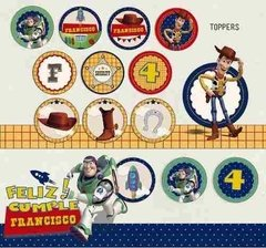 Kit Imprimible Toy Story Woody y Buzz Lightyear - comprar online