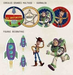 Kit Imprimible Toy Story Woody y Buzz Lightyear - tienda online