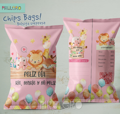 Chip Bags Modelo animales acuarela 2