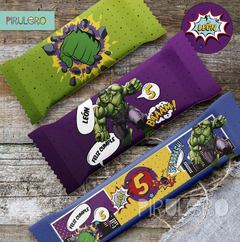 Kit Imprimible Increible Hulk - Super Heroes Avengers