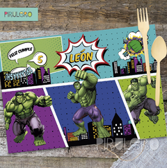 Kit Imprimible Increible Hulk - Super Heroes Avengers en internet