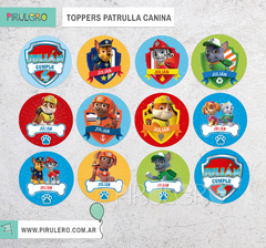 Toppers Patrulla Canina