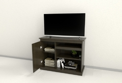 "RACK TABLES 1023WH TV 42"" WENGUE/HABANO - comprar online"